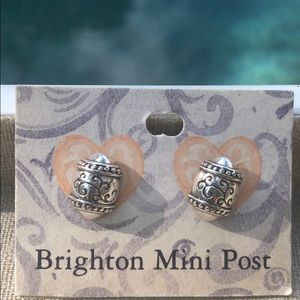 NIB Brighton Silver Jezebel Earrings